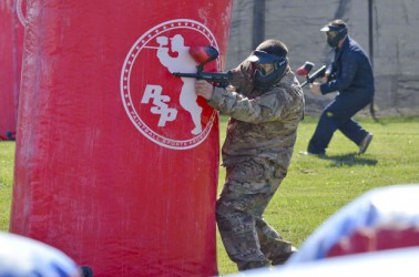 Airmen Loving Paintball