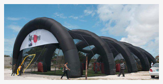 Paintball Inflatable Arena
